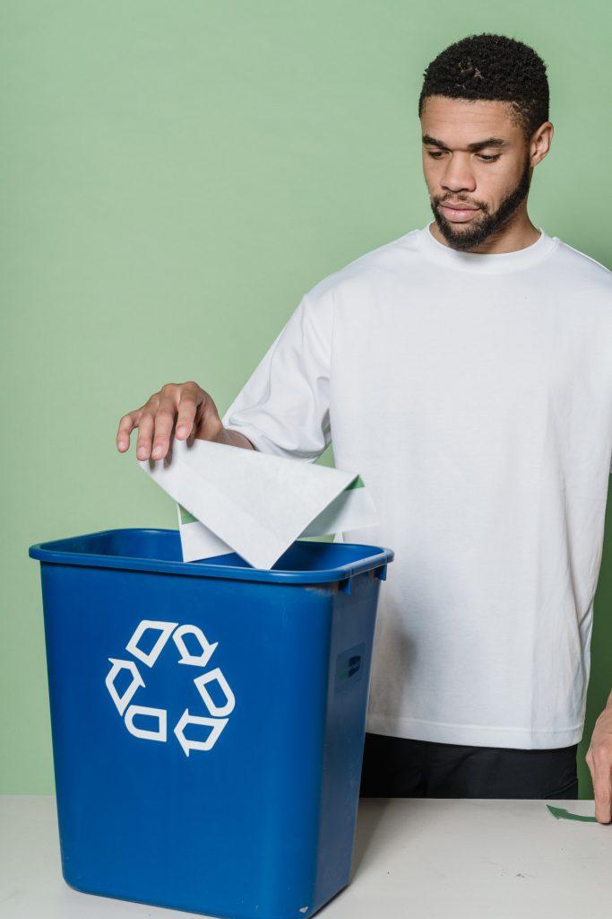 Recycle prullenbakken